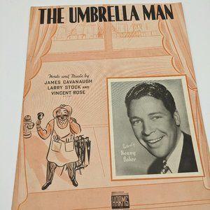 The Umbrella Man sheet music - 1938